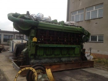 SKL 6NVD48A-2U MARINE DIESEL ENGINE -sold